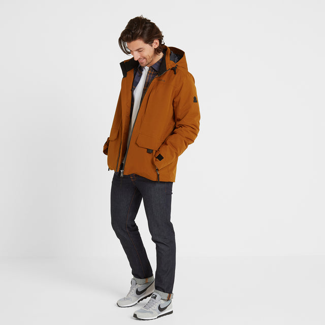 Helmsley Mens Winter Jacket - Amber image 2