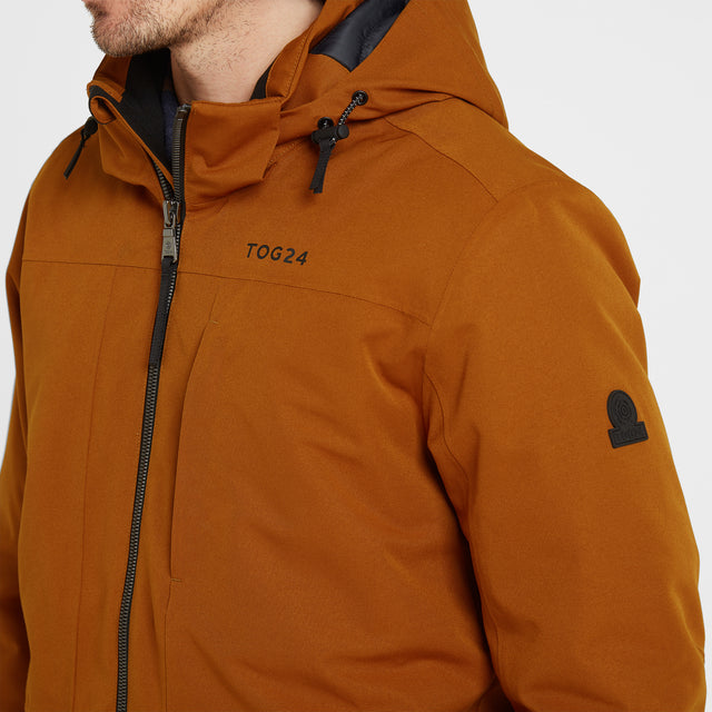 Helmsley Mens Winter Jacket - Amber image 5
