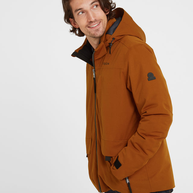 Helmsley Mens Winter Jacket - Amber image 1