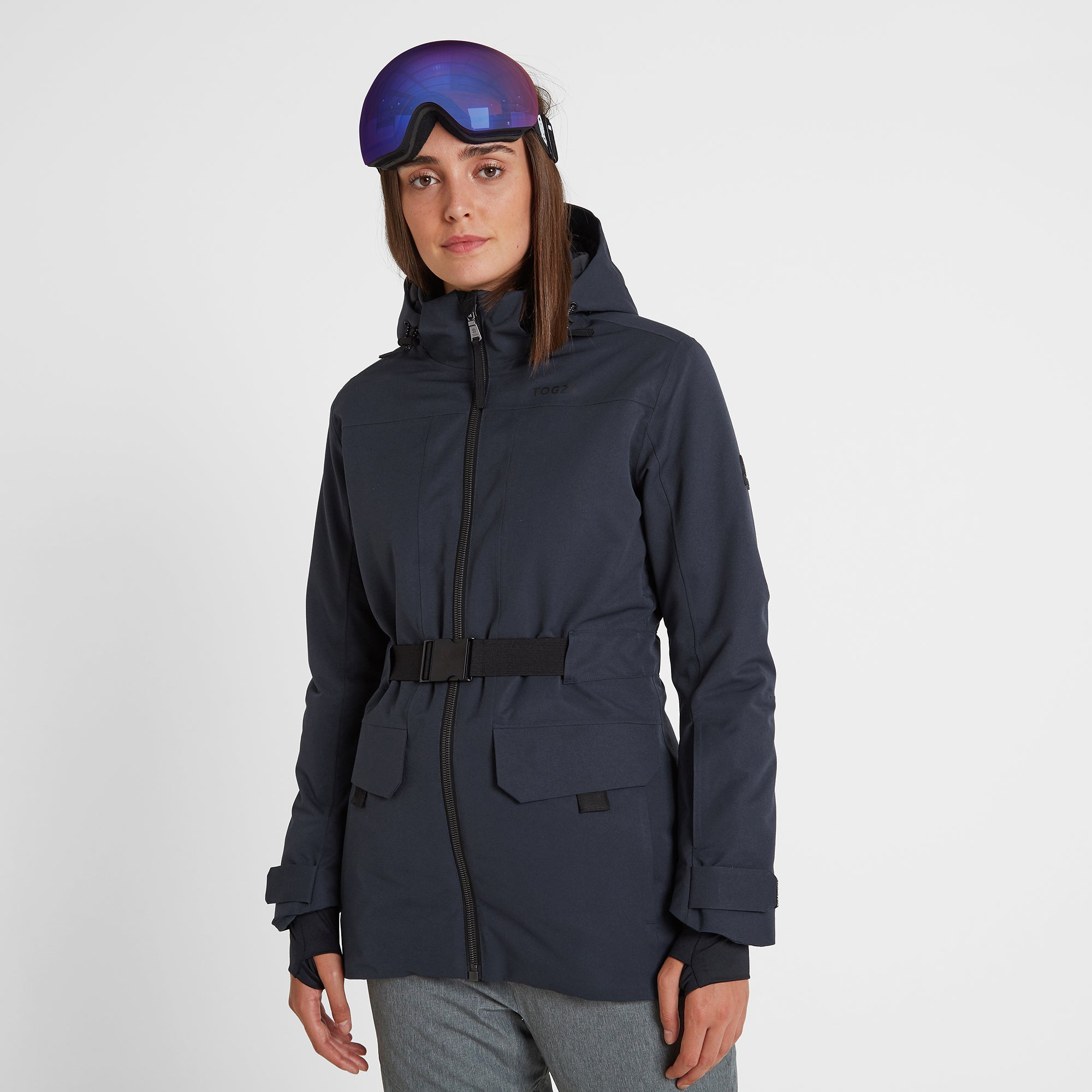 Helmsley Womens Waterproof Ski Jacket - Dark Indigo