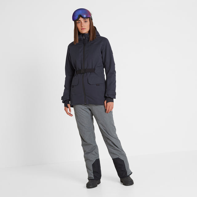 Helmsley Womens Waterproof Ski Jacket - Dark Indigo image 2