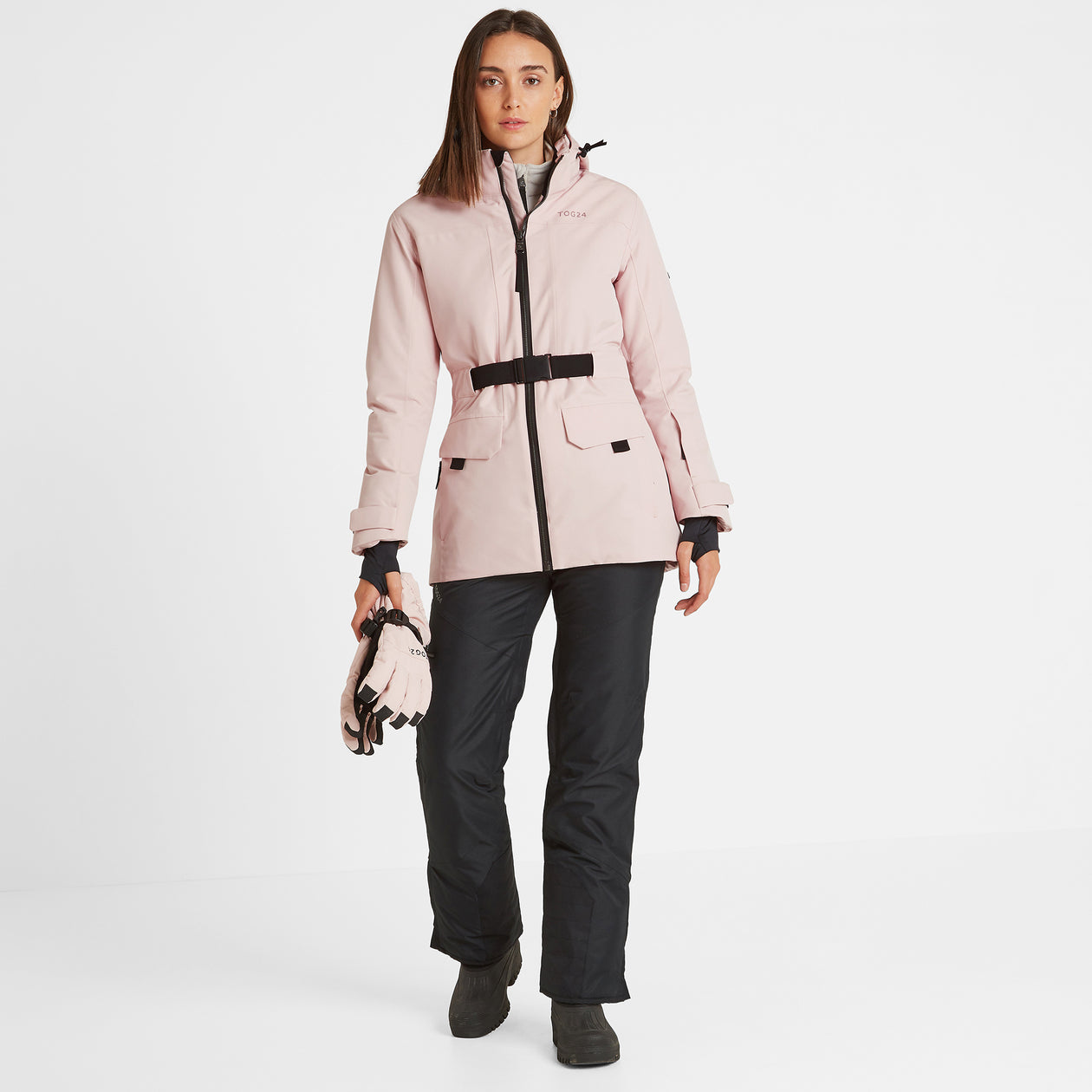Helmsley Womens Waterproof Ski Jacket - Rose Pink image 4