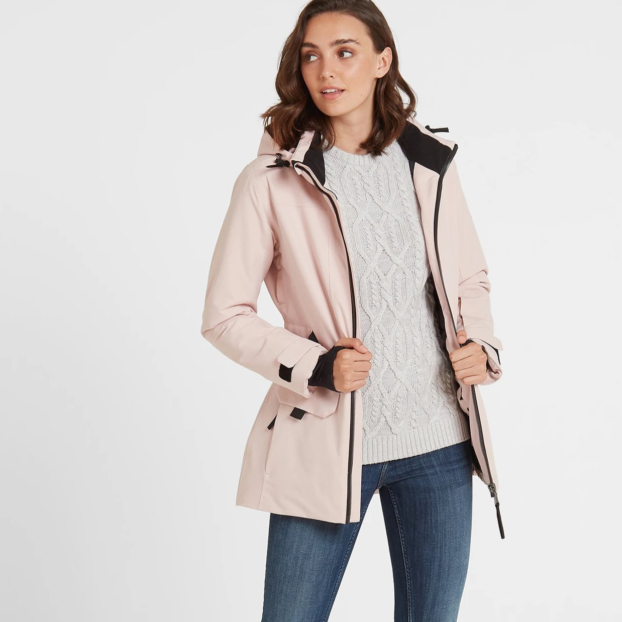 Helmsley Womens Winter Jacket - Rose Pink image 4