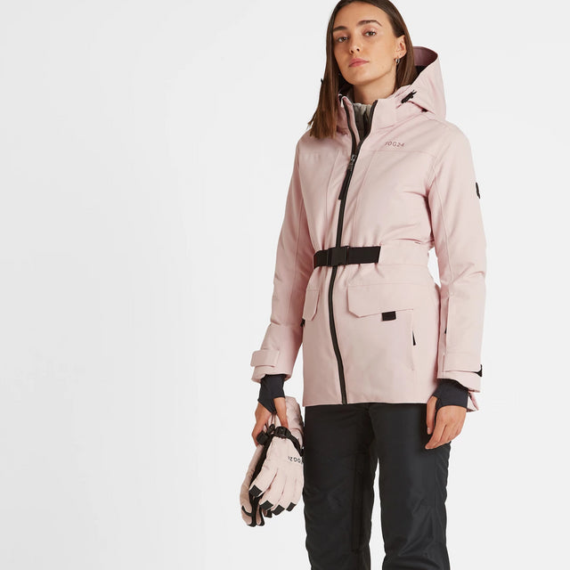 Helmsley Womens Waterproof Ski Jacket - Rose Pink image 2