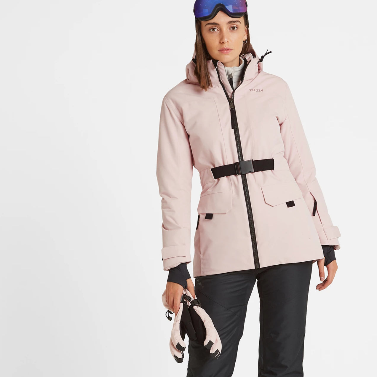 Helmsley Womens Waterproof Ski Jacket - Rose Pink