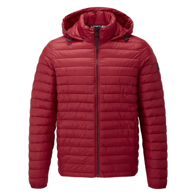 Helme Mens Padded Jacket - Rio Red image 3