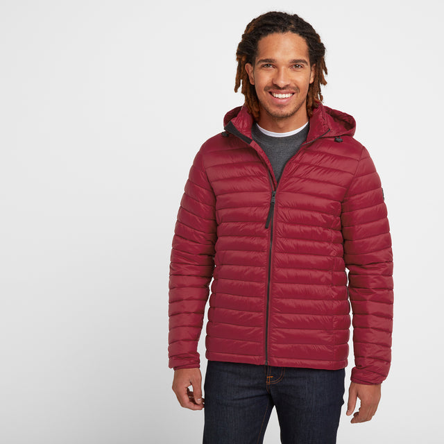 Helme Mens Padded Jacket - Rio Red image 1