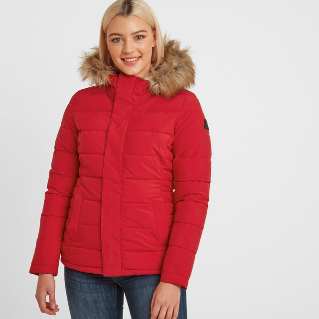 Helwith Womens Insulated Jacket - Rouge Red image 1