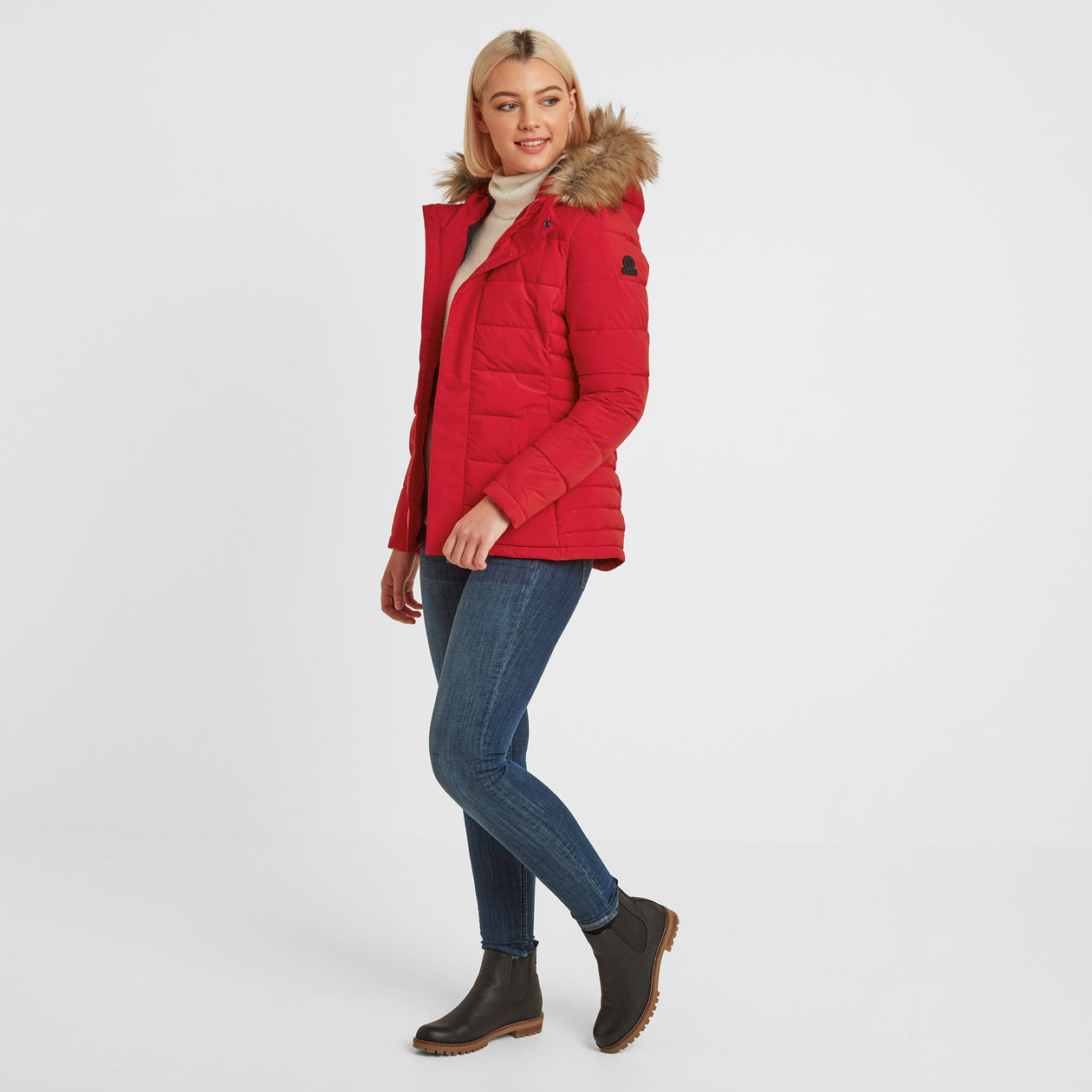 Helwith Womens Insulated Jacket - Rouge Red image 4