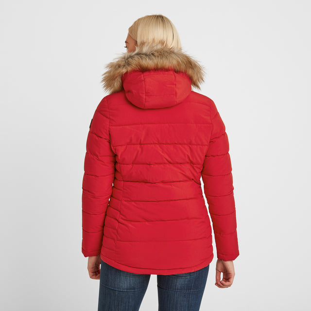 Helwith Womens Insulated Jacket - Rouge Red image 2