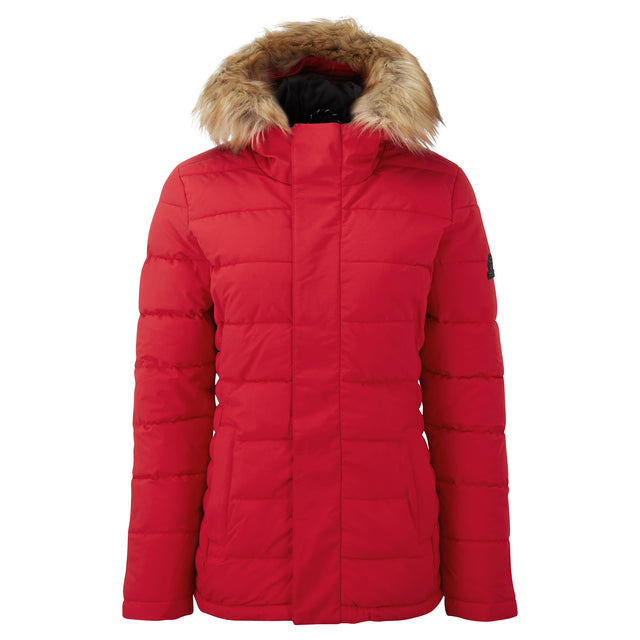 Helwith Womens Insulated Jacket - Rouge Red