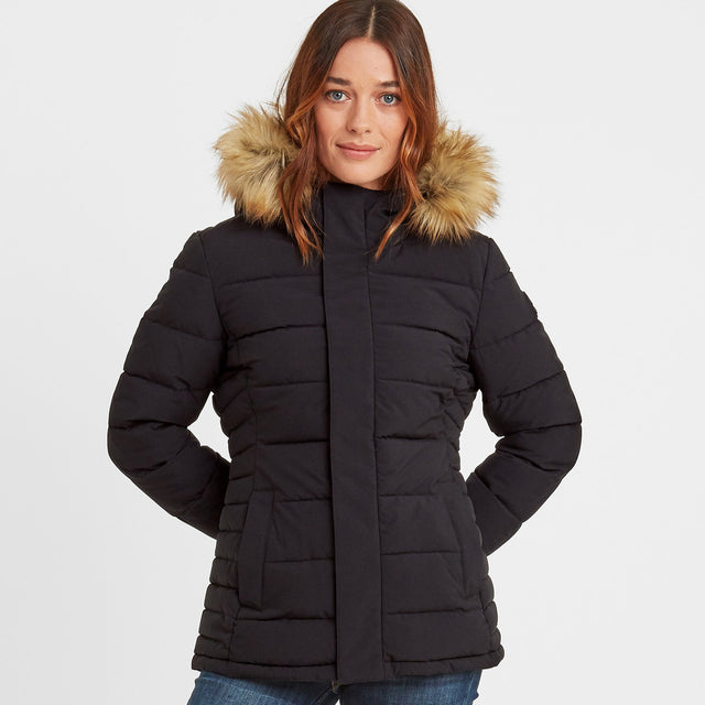 Helwith Womens Insulated Jacket - Black image 1