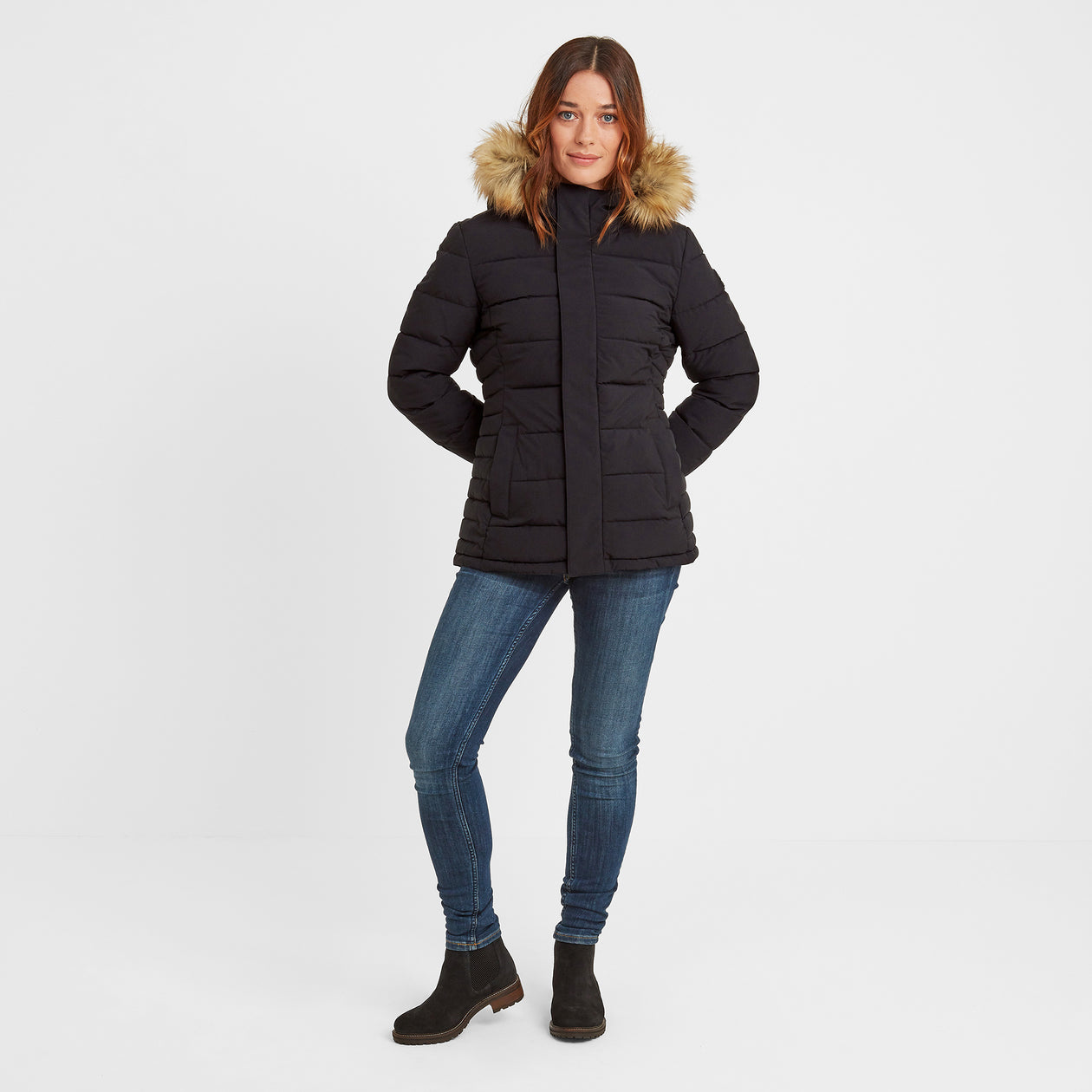 Helwith Womens Insulated Jacket - Black image 4