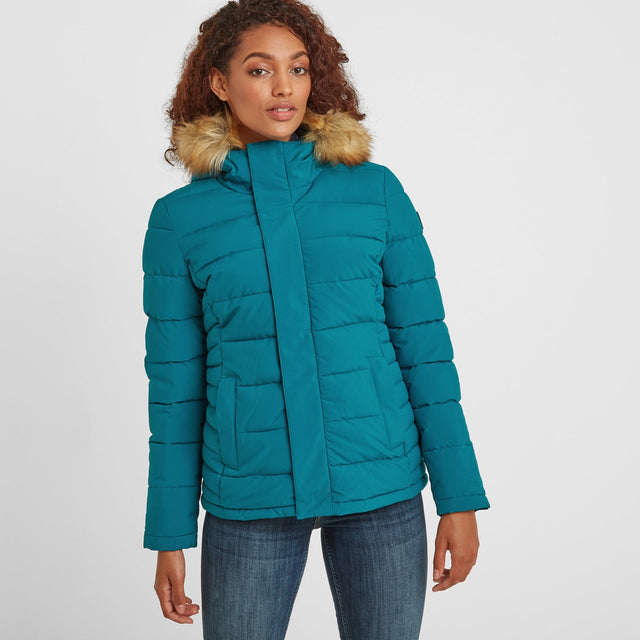 Helwith Womens Insulated Jacket - Pacific Blue image 1