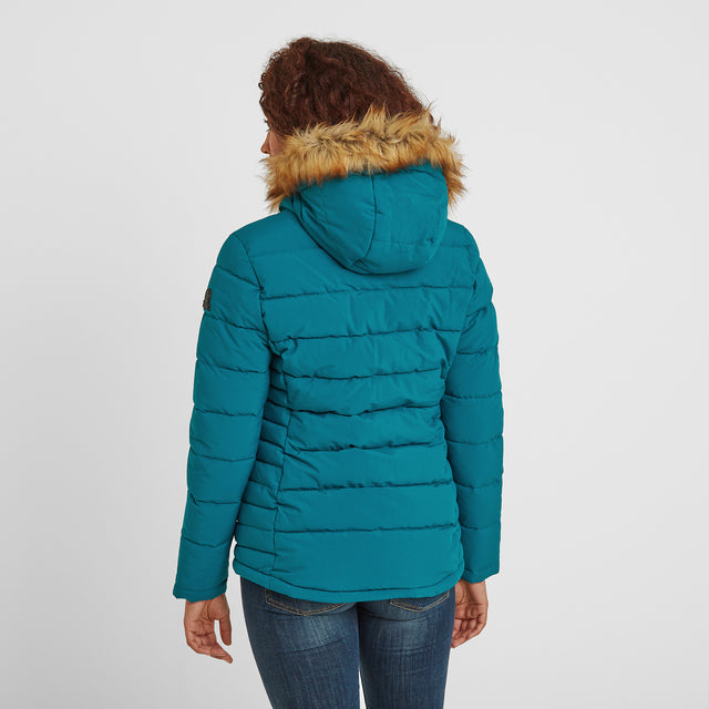 Helwith Womens Insulated Jacket - Pacific Blue image 2