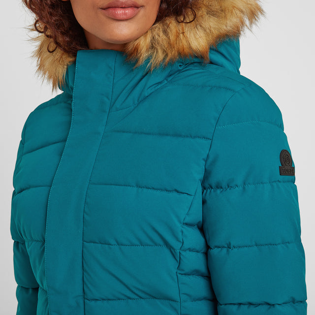 Helwith Womens Insulated Jacket - Pacific Blue image 5