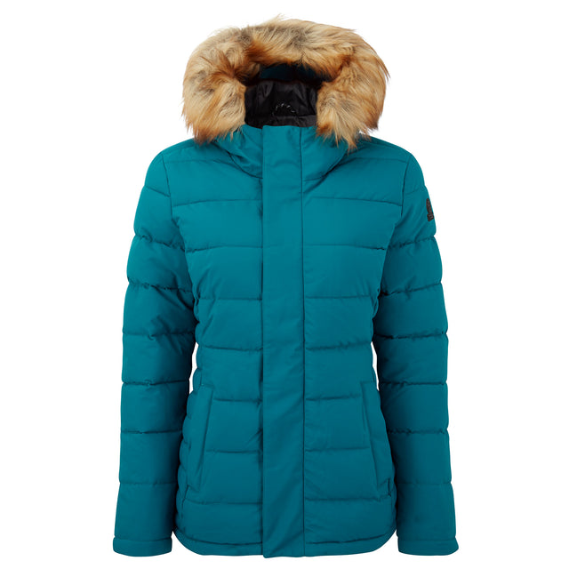 Helwith Womens Insulated Jacket - Pacific Blue image 3