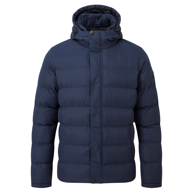 Hexham Mens Long Insulated Jacket - Navy image 6