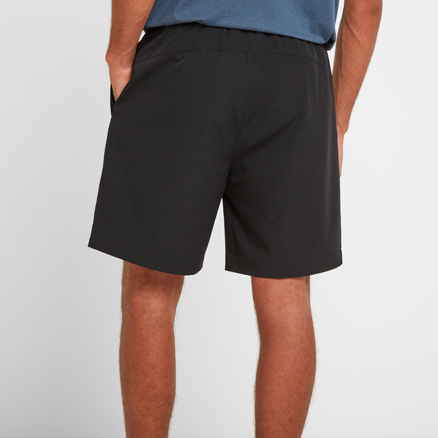 Hunsley Mens Running Shorts - Black image 3