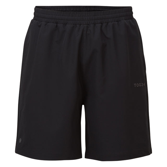 Hunsley Mens Running Shorts - Black image 2