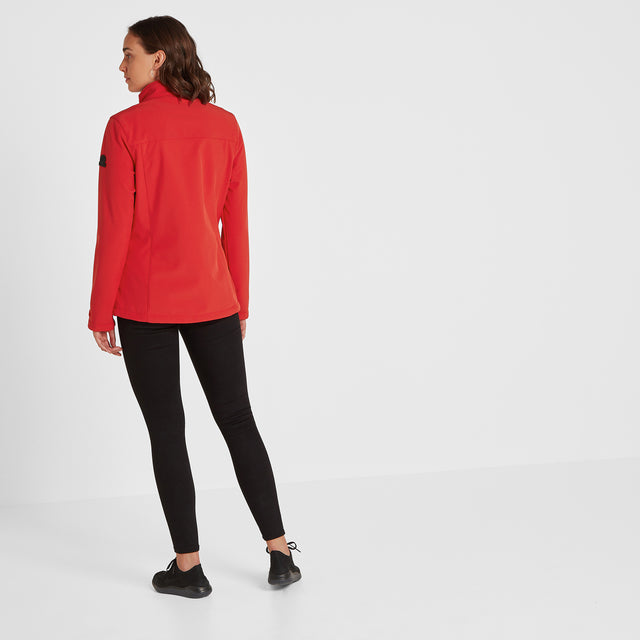 Keld Womens Softshell Jacket - Rouge Red image 2