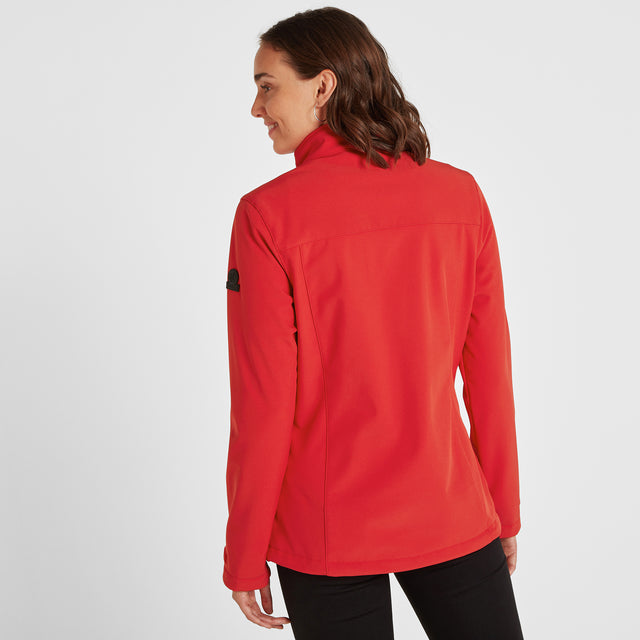 Keld Womens Softshell Jacket - Rouge Red image 3