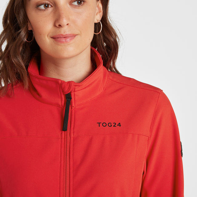 Keld Womens Softshell Jacket - Rouge Red image 5