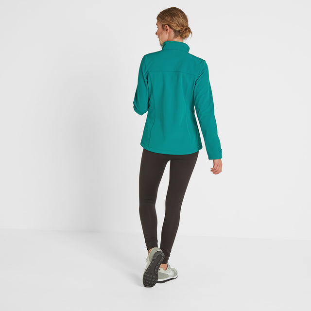 Keld Womens Softshell Jacket - Topaz image 2