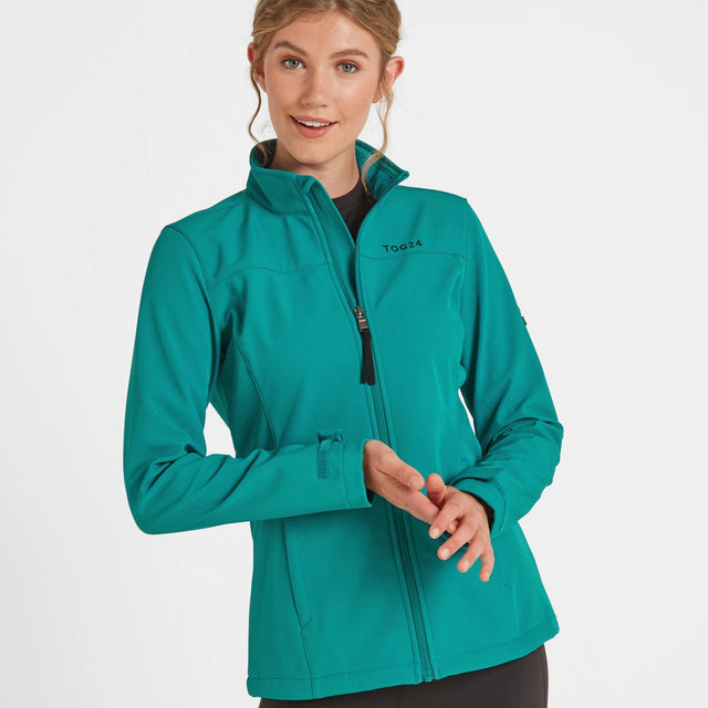 Keld Womens Softshell Jacket - Topaz image 1