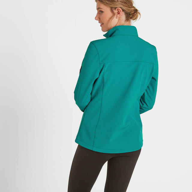 Keld Womens Softshell Jacket - Topaz image 3