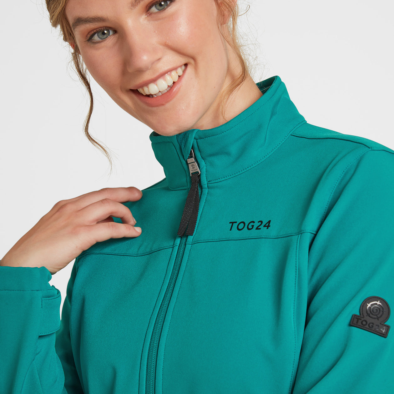 Keld Womens Softshell Jacket - Topaz image 4