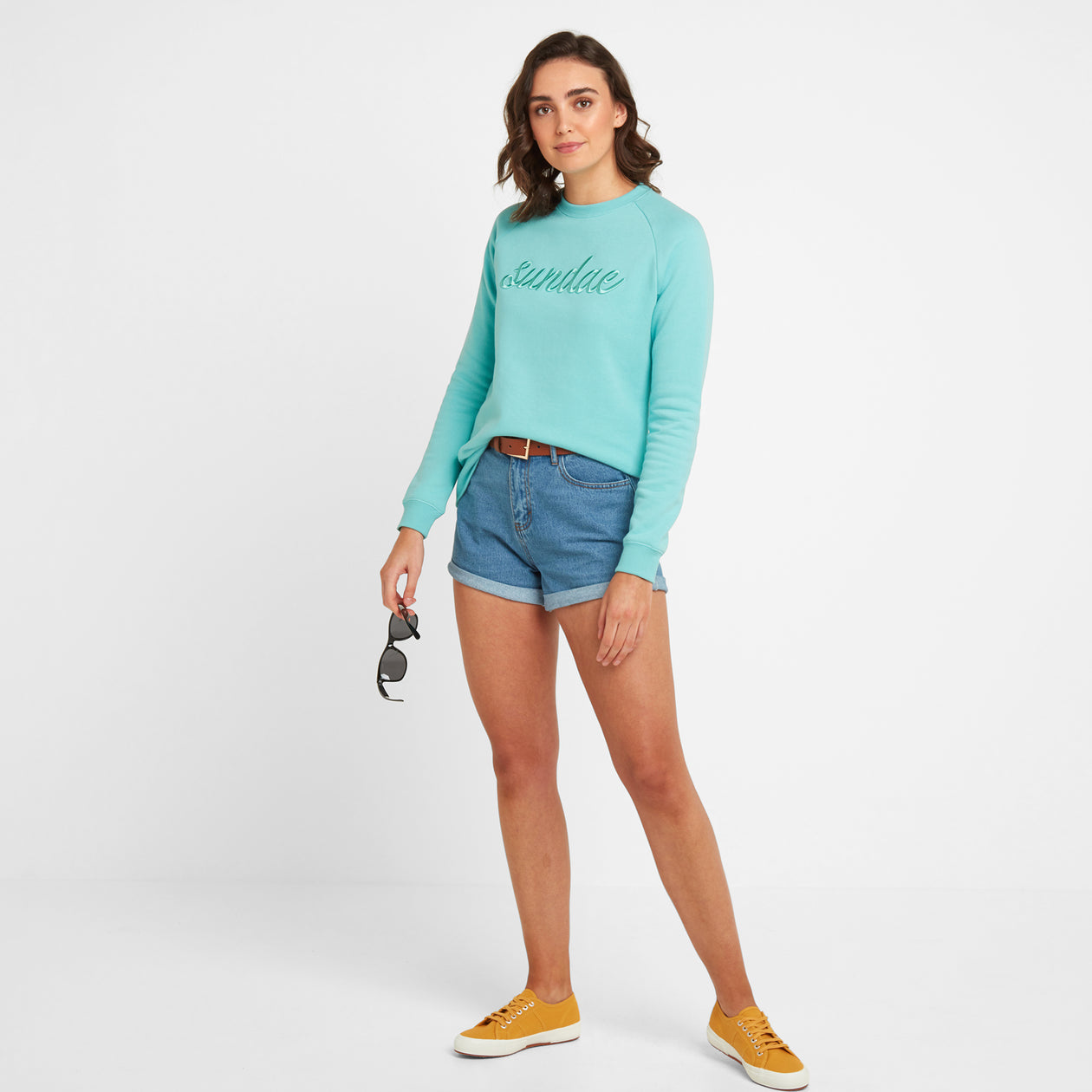 Laney Womens Crew Sweat - Spearmint image 4