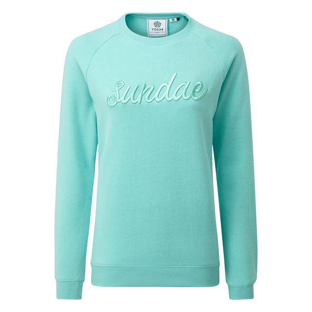 Laney Womens Crew Sweat - Spearmint image 3