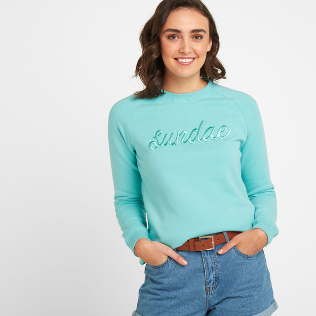 Laney Womens Crew Sweat - Spearmint image 1