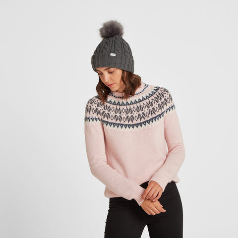 Leedon Knit Hat - Dark Grey Marl