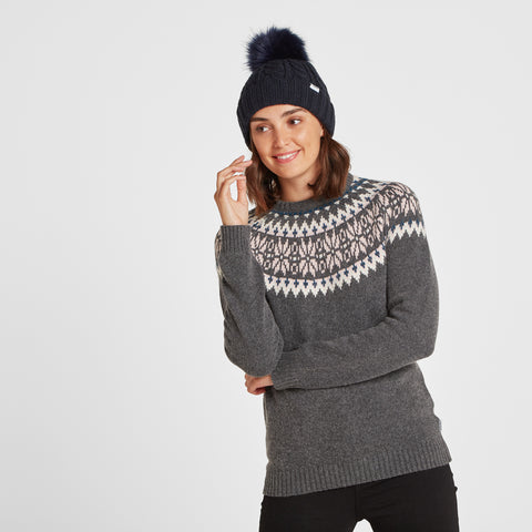 Leedon Knit Hat - Dark Indigo