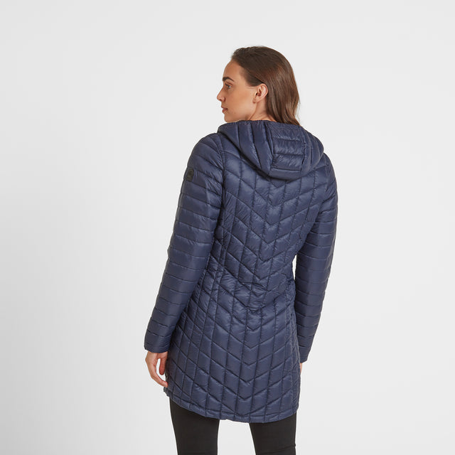 Linton Womens Thermal Jacket - Navy image 3