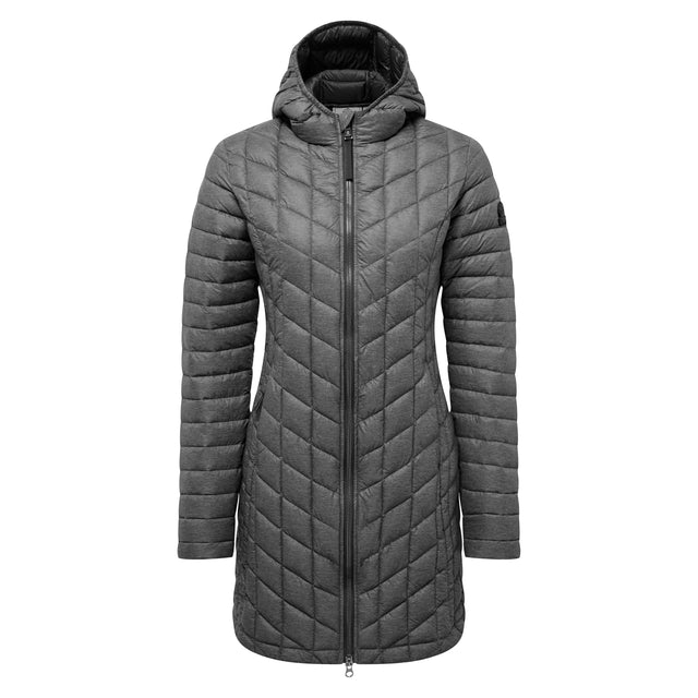 Linton Womens Thermal Jacket - Grey Marl image 5