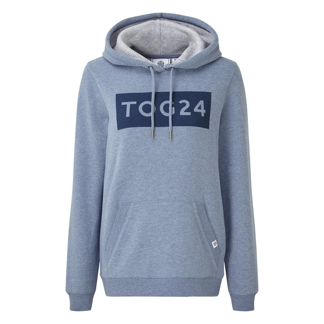 Lola Womens Hoody - China Blue Marl image 3