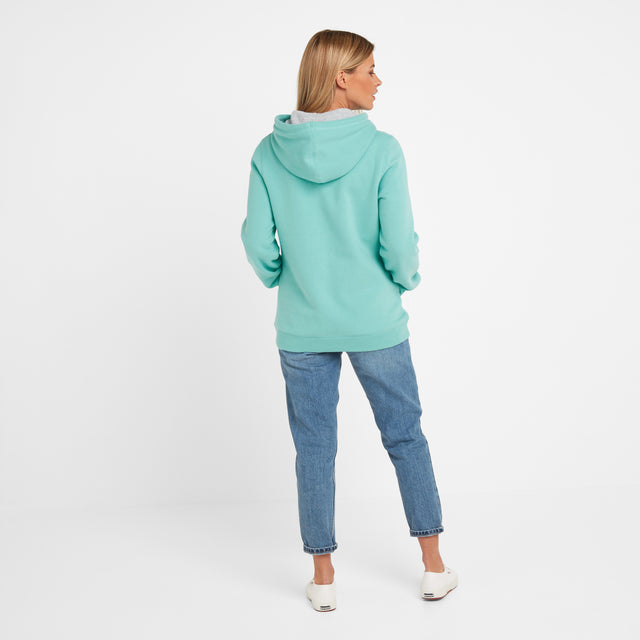 Lola Womens Hoody - Spearmint image 2