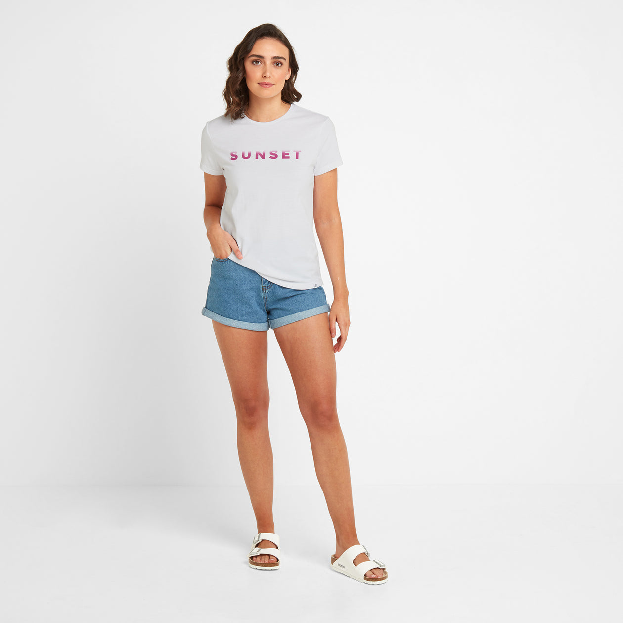 Lycett Womens T-Shirt - Optic White image 4
