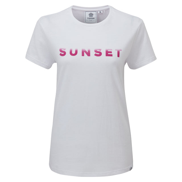 Lycett Womens T-Shirt - Optic White image 3