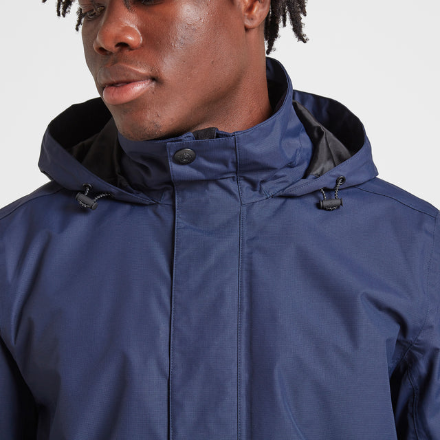 Mawson Mens Waterproof Jacket - Navy image 5