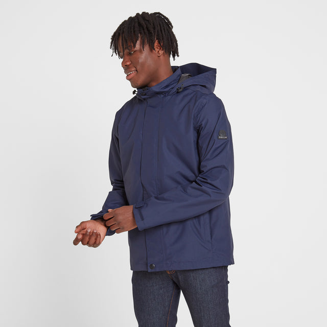 Mawson Mens Waterproof Jacket - Navy image 1
