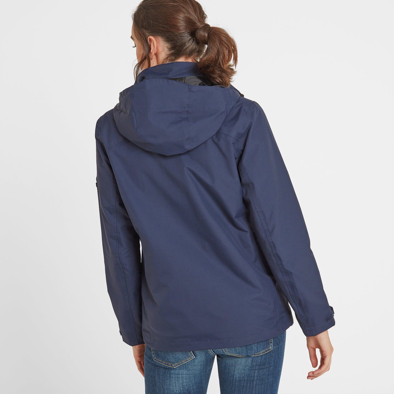 Mawson Womens Waterproof Jacket - Navy image 4