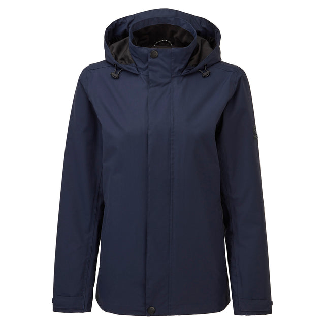 Mawson Womens Waterproof Jacket - Navy image 6