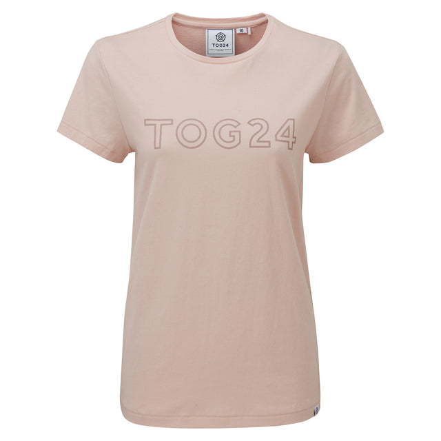 Milnrow Womens Tog Print T-Shirt - Rose Pink image 3