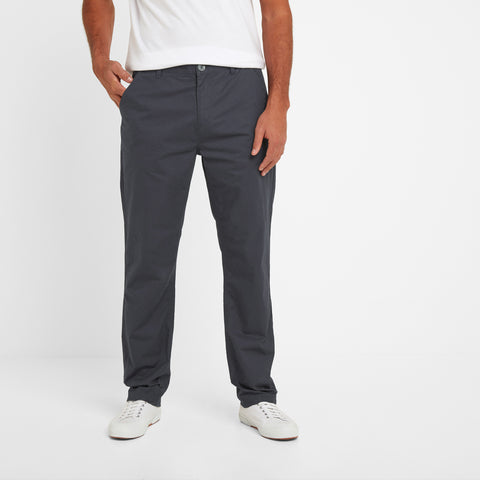 Pickering Mens Trousers Long - Midnight