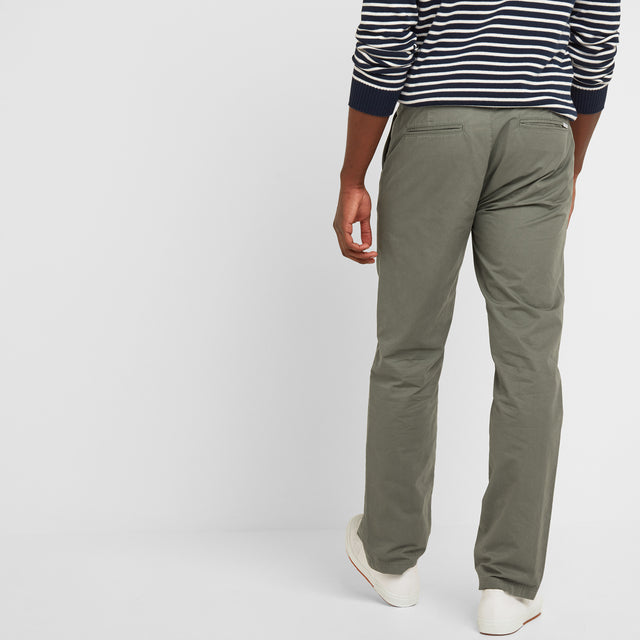 Pickering Mens Trousers Short - Military Khaki image 3