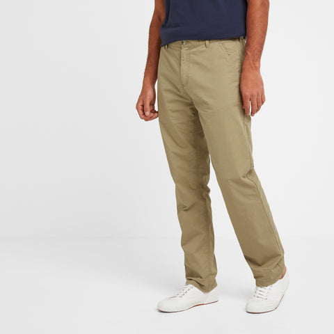 Pickering Mens Trousers Long - Sand